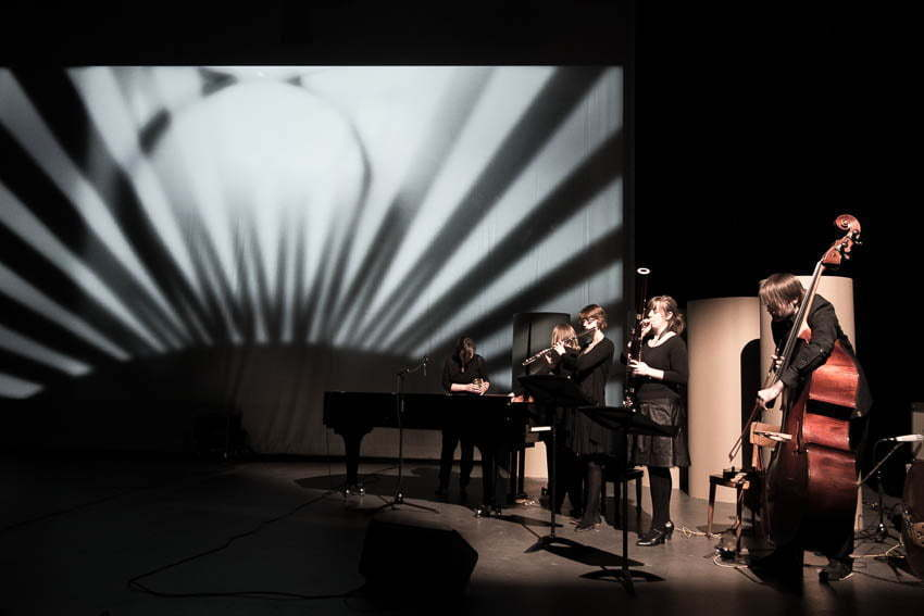 Public performance in March 2013 at a mini-festival about film & music at Südpol Luzern.