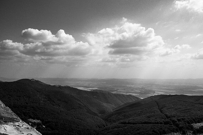 Mountain range, Buzludzha, Bulgaria