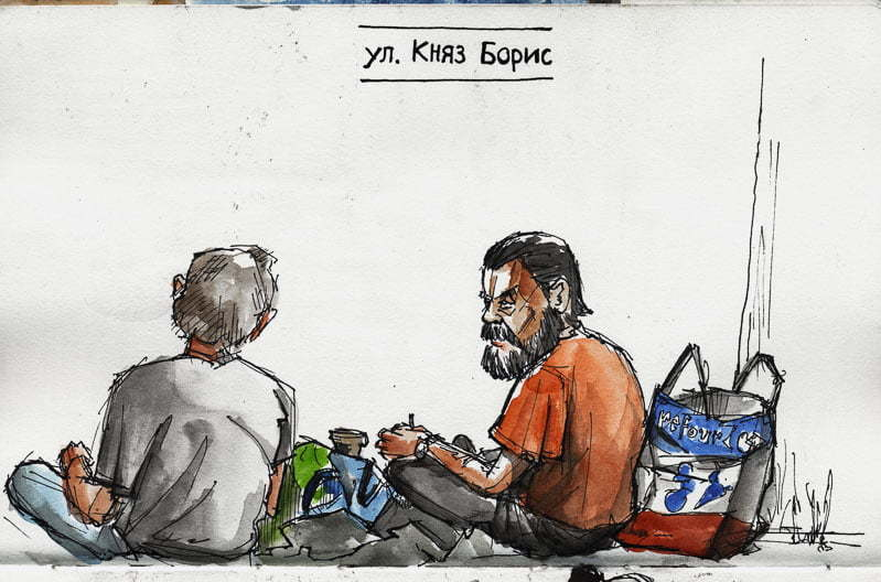 Varna, Homeless people