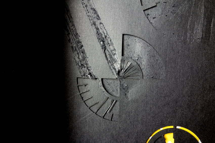 A Book about time - End of the papercut clock sequence