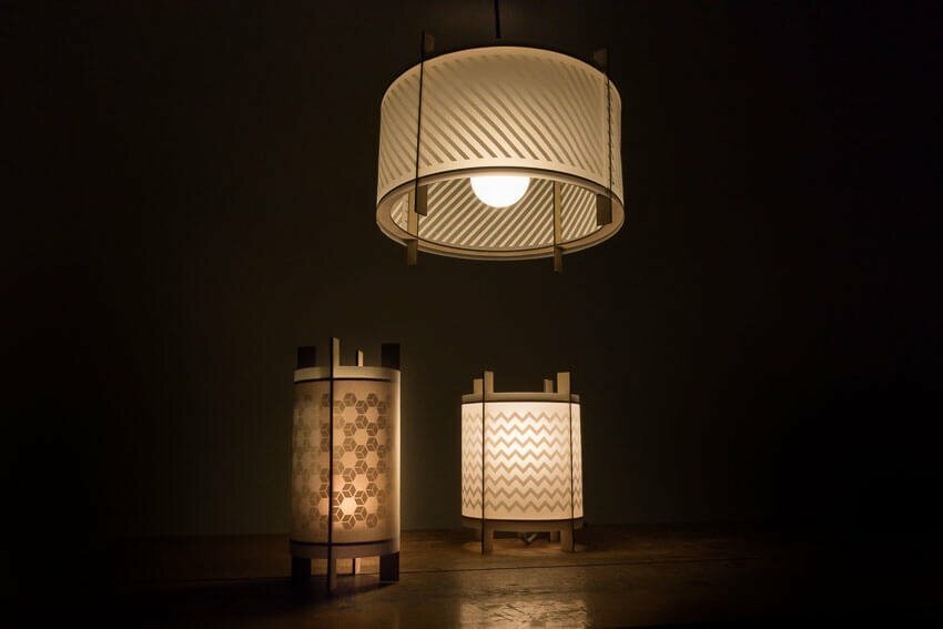 LOX - laser cut lamps - Collection overview