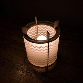 LOX - laser cut lamp - desk light