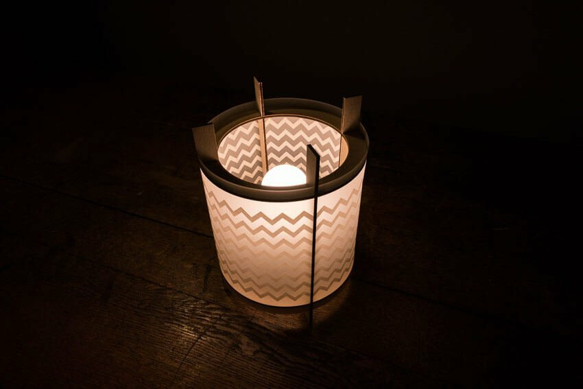 LOX - laser cut lamp - desk light